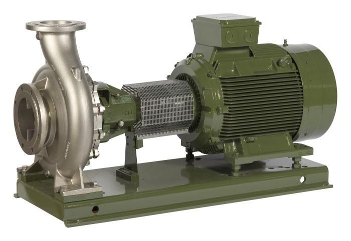 Akselitiivisteellinen pumppu NCB - täydellinen pumppuyksikkö